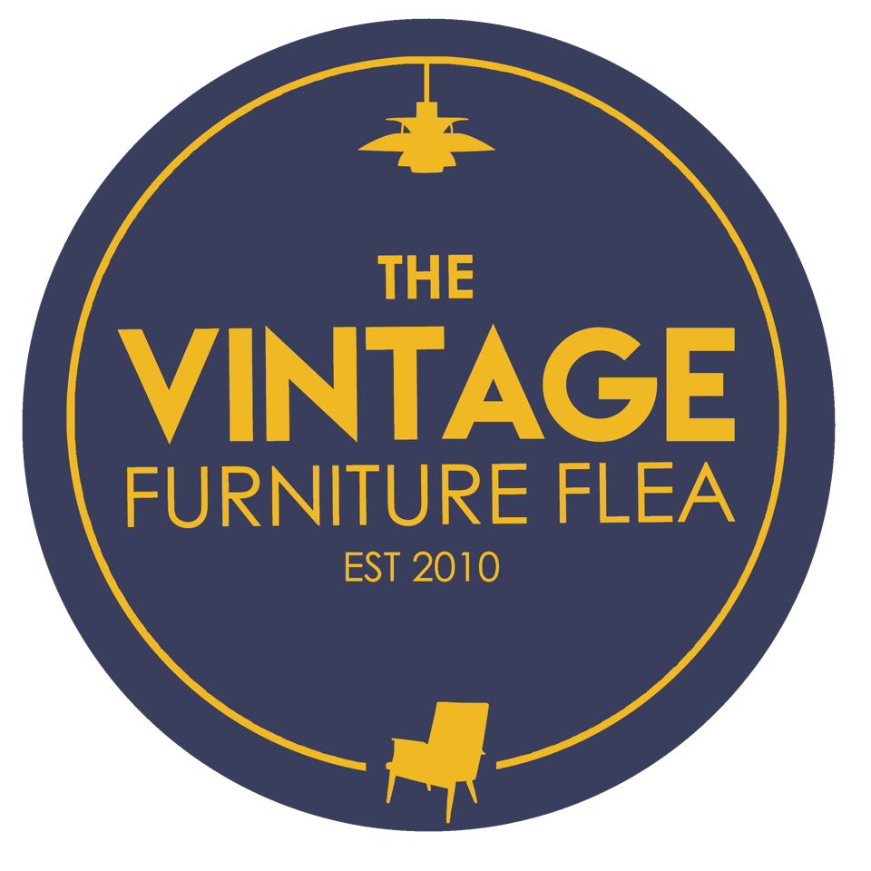 The Vintage Furniture Flea Circle Logo